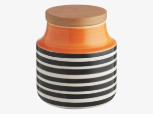 Habitat - Tira small orange storage jar, £10