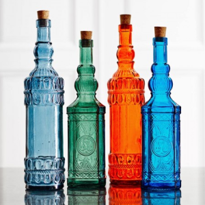 Aladdin Glass Bottles graham and greene