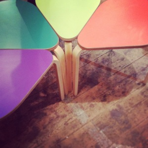 Bim Burton flower tables