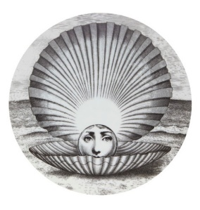 Fornasetti plate from Liberty