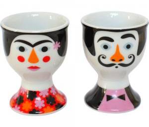 Frida & Salvador Egg Cups, £18 Hunkydoryhome