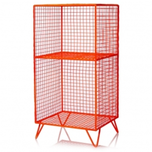 Neon Iron storage shelf Oliver Bonas