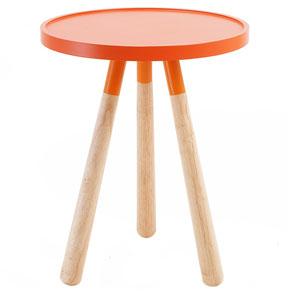 Orbit side table Red Candy