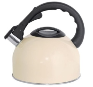 Stovetop Kettle in Cream, £14.99 from Argos