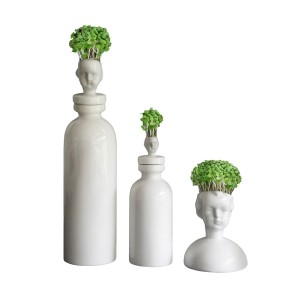 Cress Heads by Polly George from Everything Begins