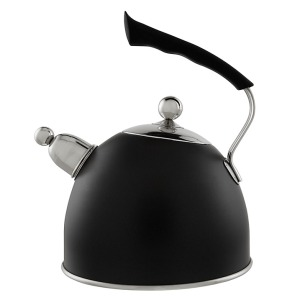 Stovetop Whistling Kettle in Black, £40 from John Lewis