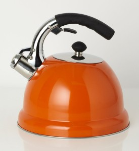 Essentials Stove Top Kettle in Orange, £15 from BHS