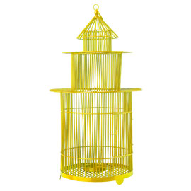 Pols Potten Yellow Birdcage Lantern from Heals