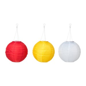 Solvinden lamps from Ikea