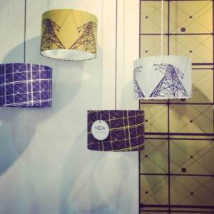 Lampshades by Anthony Hughes