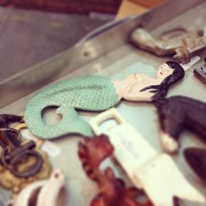 Mermaid bottle opener from Men's Society