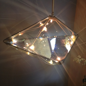 SCP diamond glass light