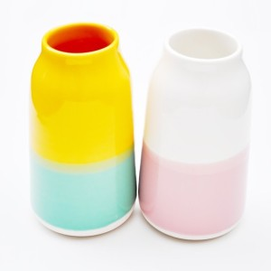 Colour gloss vase leif $62