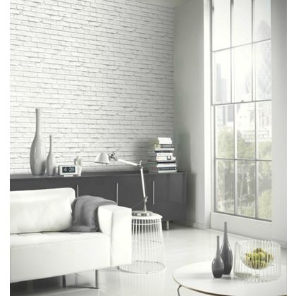 The brick effect for Living room ideas homebase