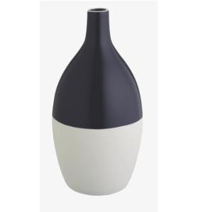 Perry grey dipped ceramic bud vase, Habitat, £7