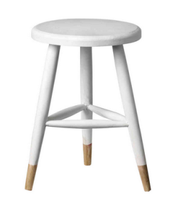White Dip Dye Stool, £69.95 Design Vintage
