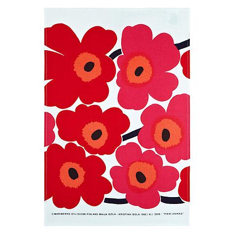 Marimekko Unikko Tea Towel, £29.50 from John Lewis