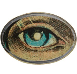 Glass Oval Paperweight featuring image taken from the John Derian collection, £45 from Liberty