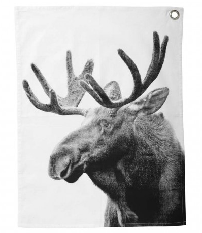 By Nord Moose Tea Towel, £15 from Occa Home