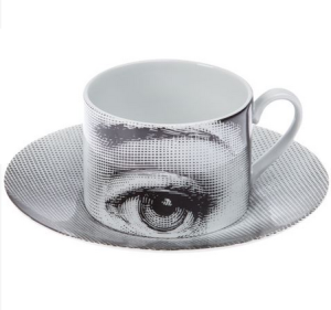 Cup and Saucer by Fornasetti, £125 from Farfetch