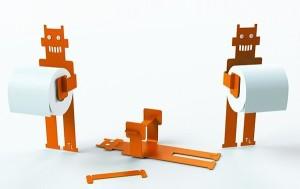 Robot Trobo Toilet Roll Holder, £41 from Darwins Home