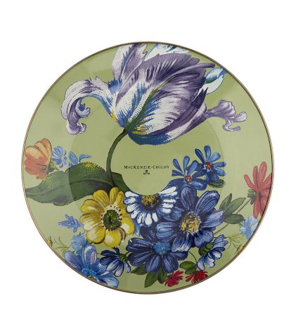 Flower Market Enamel Dinner Plate, £39.95 from MacKenzie Child