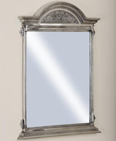 The Empire Cast Metal Mirror, from £450 - Catchpole & Rye