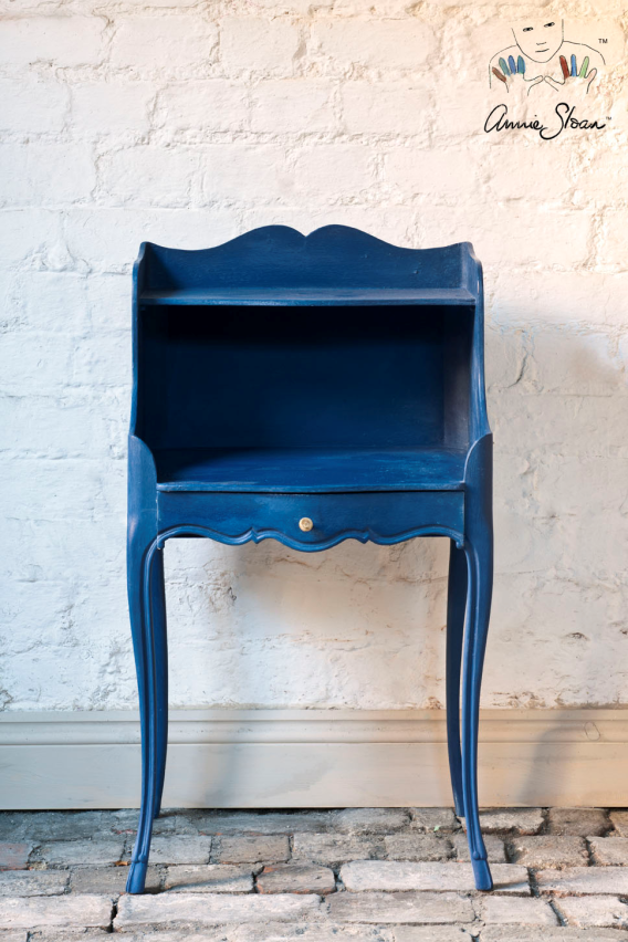 Napoleonic Blue Chalk Paint by Annie Sloan, £18.95 from Rigby & Mac