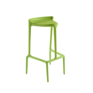 Skeletal bar stool green
