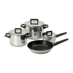 7-Piece Cookware Set (inc lids), £25 - Ikea
