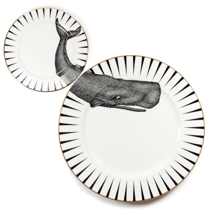 Whale of a Time Plate Set, £55 from Yvonne Ellen