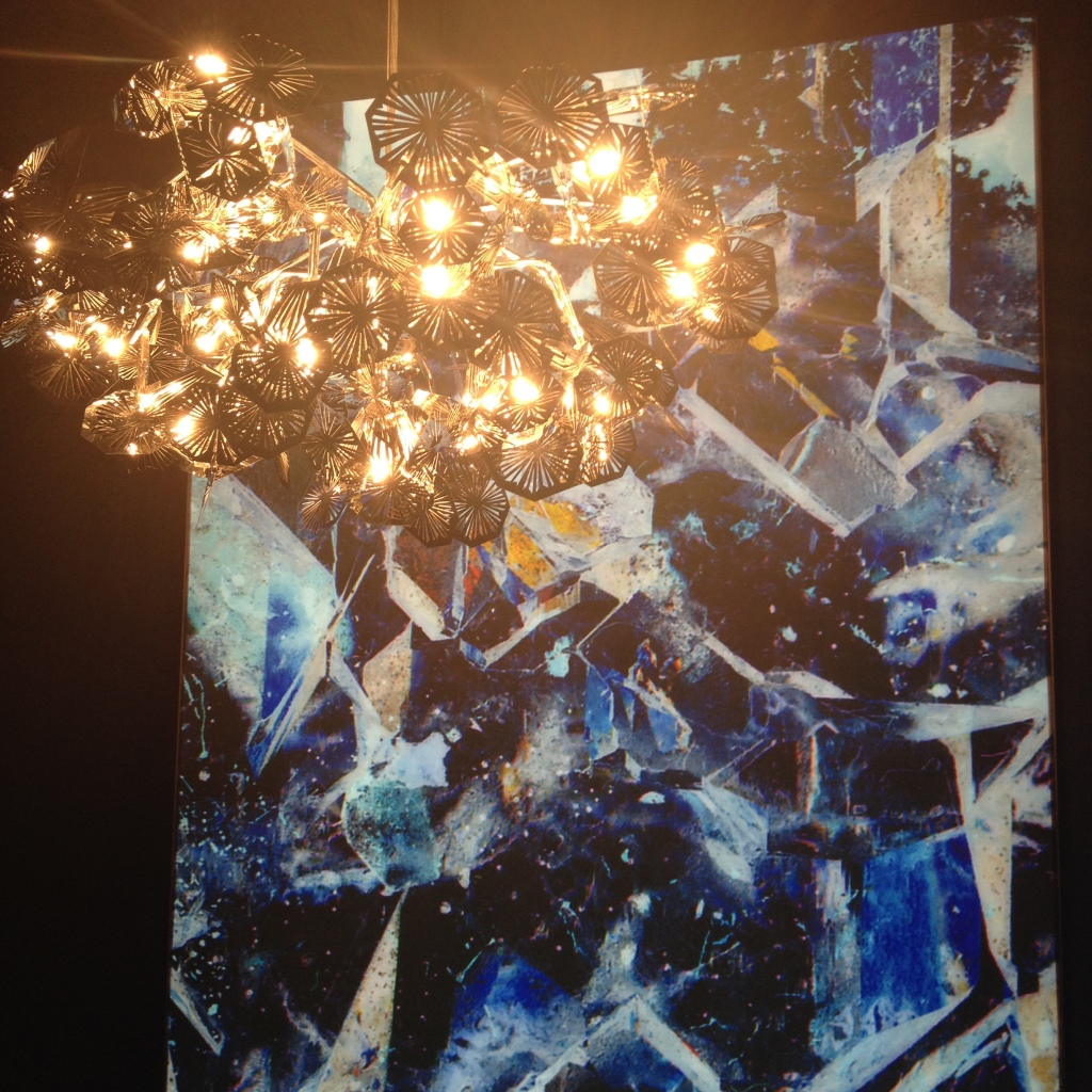 Crystalline pendant light by Claire Norcross, £295.00