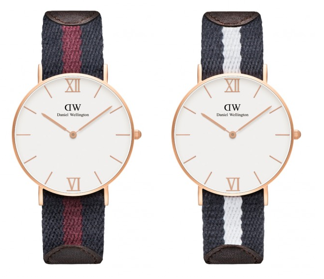 Grace London and Grace Glasgow watches, £179 from Daniel Wellington