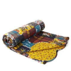 Chestnut Patch Printed Throw, £45 - BHS