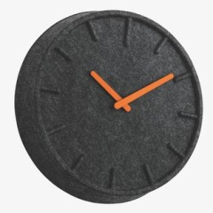 Grey Felt Clock, £120 - Habitat