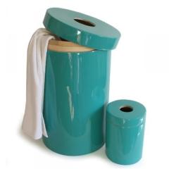 Ekobo bathroom bin, £40 - Adobe Living