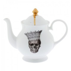 Skull Crown Jubilee Teapot, £68 from Melody Rose