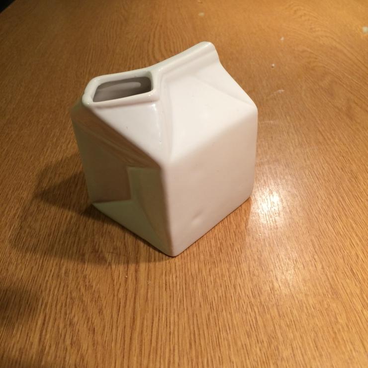 Milk jug from Tiger