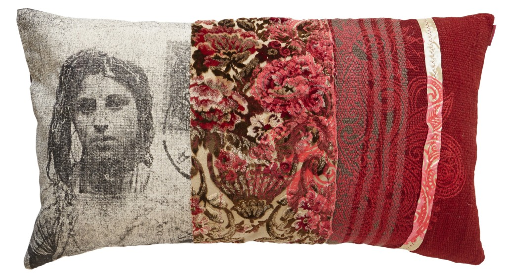 Maud interiors Fadma red and pin EDIT