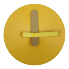 Mozia Yellow Clock, £85 - SMUG