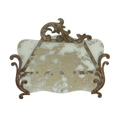 Antique Effect Mirror, £25.95 - MiaFleur