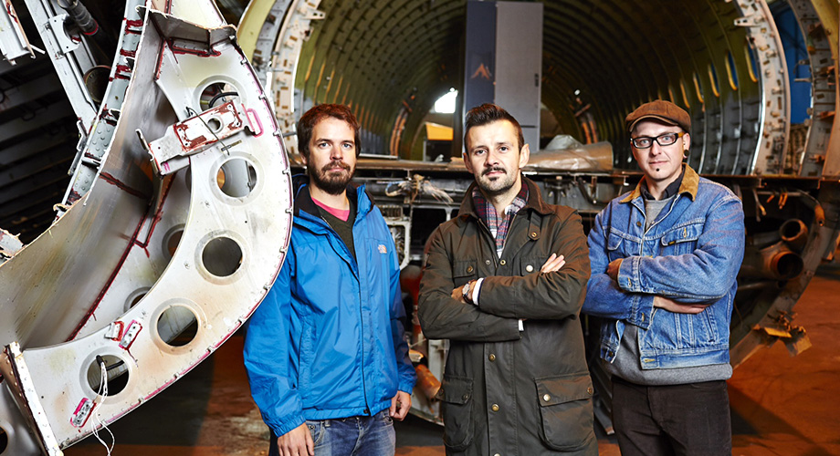 Supersized Salvage Designers: Harry Dwyer, Max McMurdo and Paul Firbank
