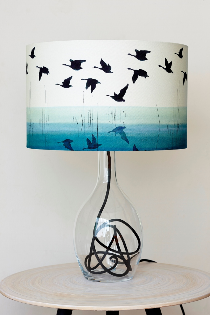 Anna Jacobs lampshade, £85 available from quiirk