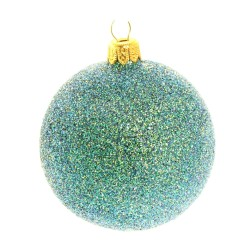 Aqua Glitter Ball Baulbe £2.75 from Potter and Rest