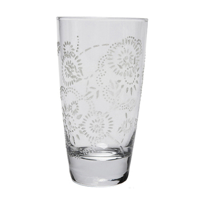 Floral drink glass from Dwell - £2.95