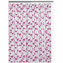 Flamingo Shower Curtain, £10.50 - Habitat