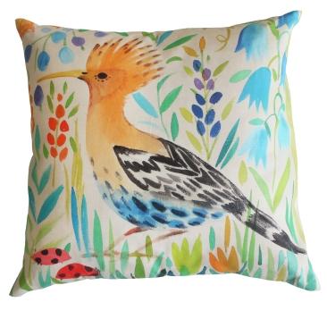 Hoopoe Cushion, £47.50