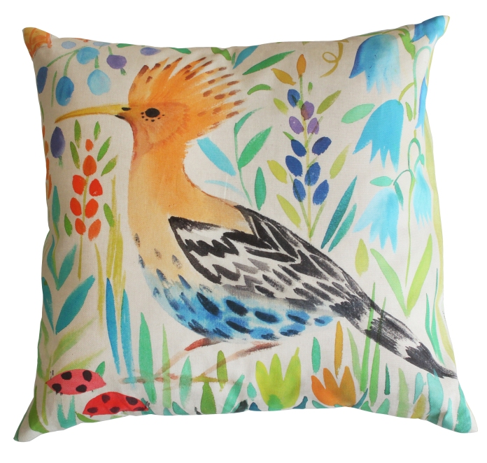 Hoopoe Cushion, £47.50