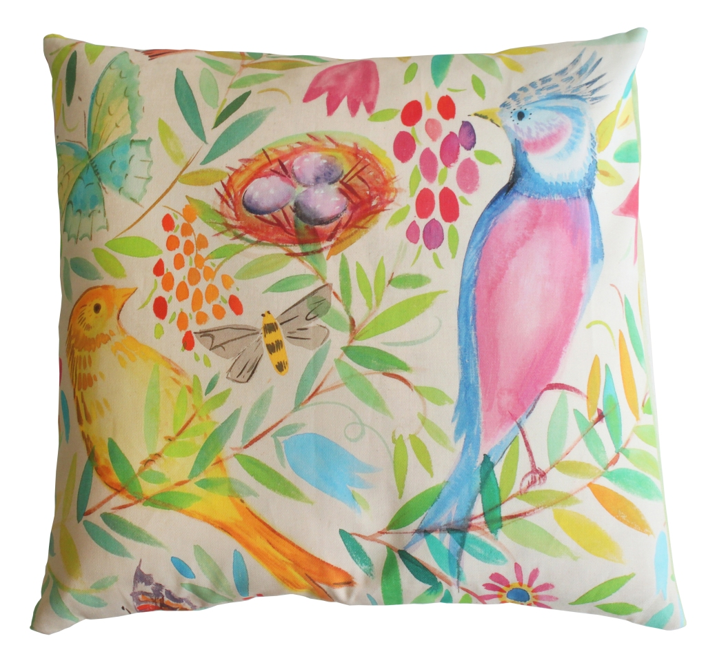 Sarah Campbell Designs - Nestegg cushion, £47.50