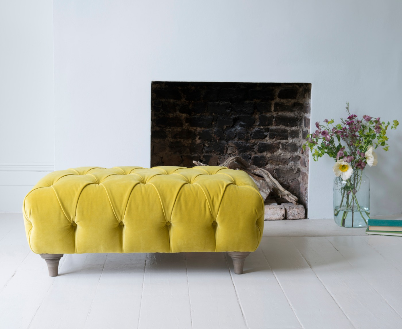 Loaf - Dimple large footstool from £395 high res